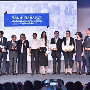 Sakıp Sabancı was remembered with the International Research Awards in the 14th Year of his passing.