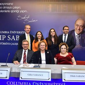 Sakıp Sabancı Chair and Center for Turkish Studies Created at Columbia University