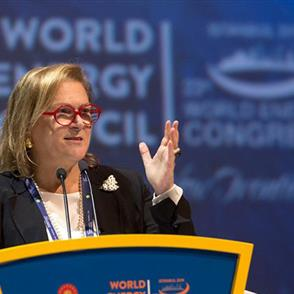 Güler Sabancı, Chairman of Sabancı Holding, Gave a Speech at The 23th World Energy Congress