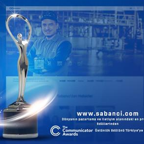 Sabancı Holding's website received an international award!